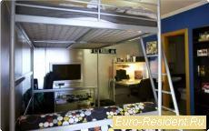 Трехспальная квартира со встроенными шкафами